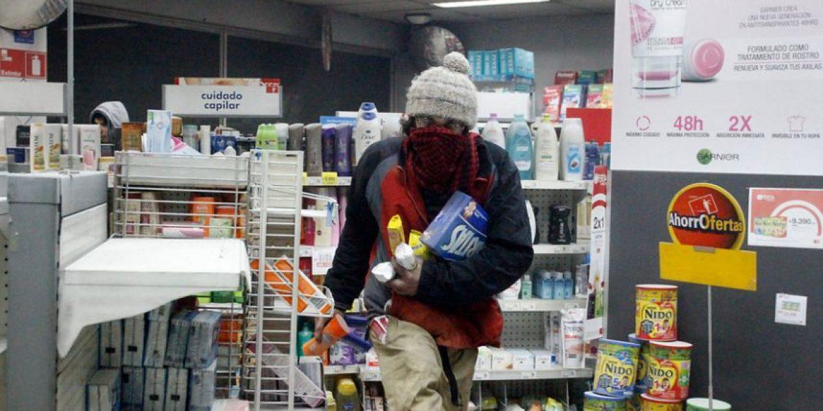 Detienen a diez personas por atracos a farmacias: uno era menor de edad