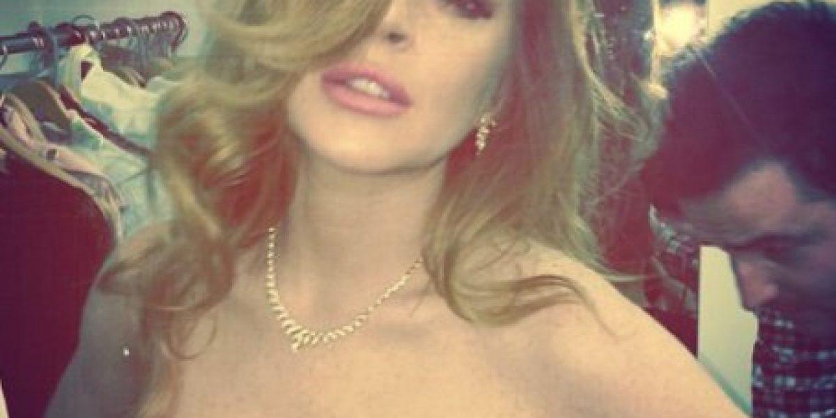 Fotos: A Lindsay Lohan se le escapó otro bochornoso Photoshop