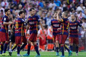 1. Barcelona Foto:Getty Images. Imagen Por: