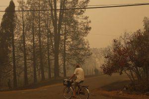Según el medio británico BBC, el fuego se esparció por lo seca que es esa zona. Foto:Getty Images. Imagen Por: