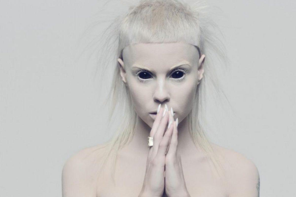 """Se parece a Yolandi Visser, cantante de """"Die Antwoord"""". Foto:vía Die Antwoord. Imagen Por:"""