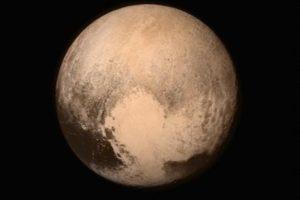La primera imagen que la sonda New Horizons tomó de Plutón Foto:Instagram.com/NASA. Imagen Por: