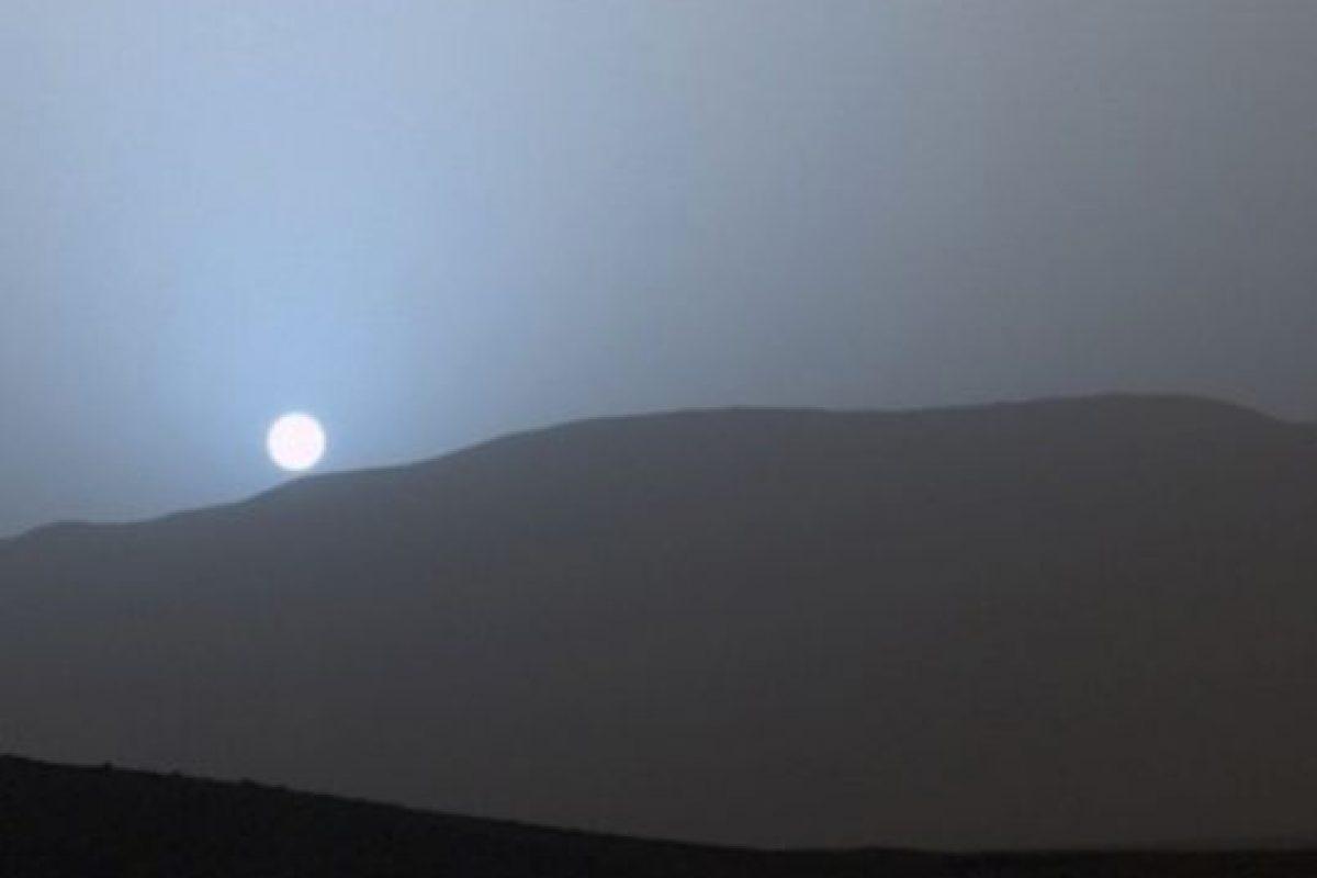 Un atardecer azul captado en Marte por el explorador Curiosity Foto:Instagram.com/NASA. Imagen Por:
