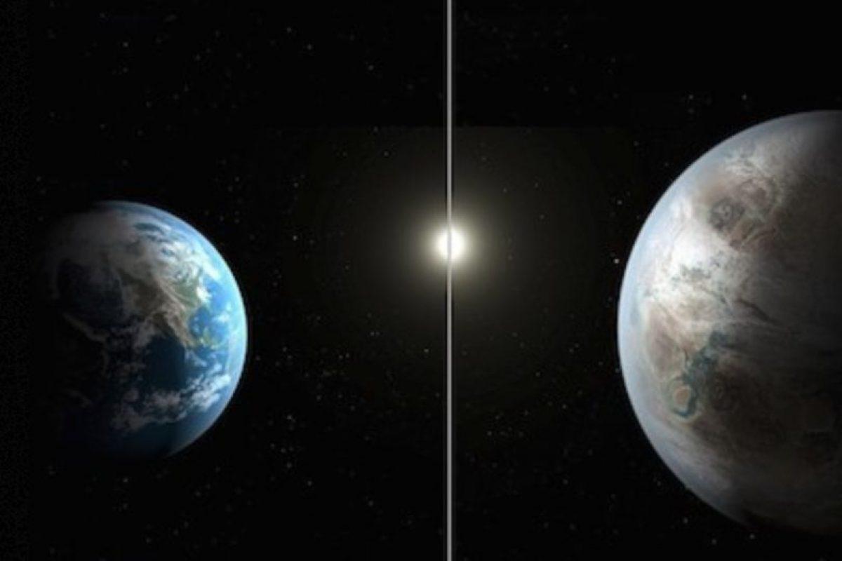 """El planeta Kepler – 452b, el planeta """"gemelo"""" de la Tierra Foto:Instagram.com/NASA. Imagen Por:"""