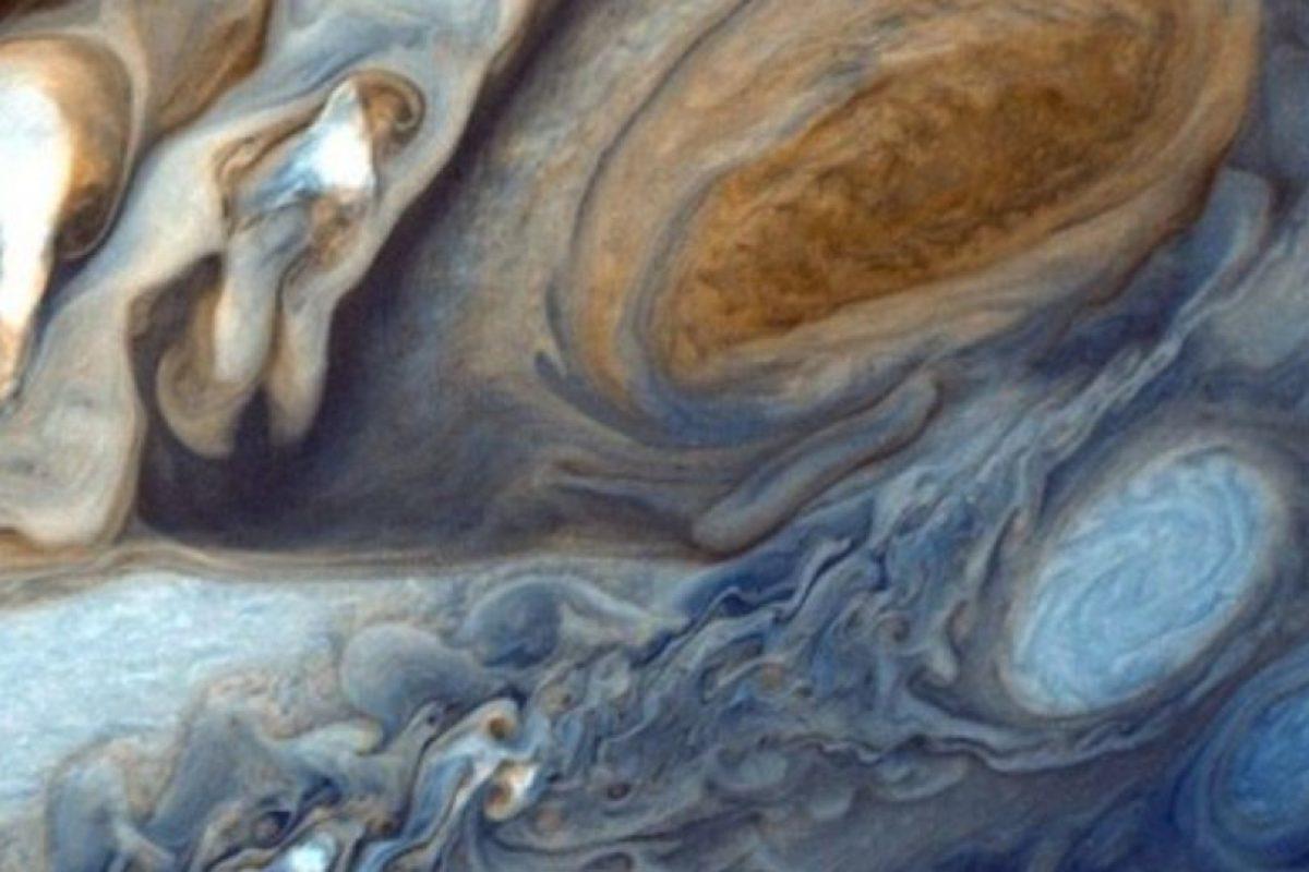 Un huracán captado en Júpiter Foto:Instagram.com/NASA. Imagen Por: