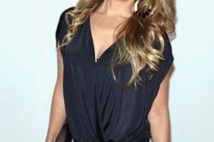 Así se presentó Thalía a la Semana de la Moda de Nueva York. Foto:vía Getty Images. Imagen Por: