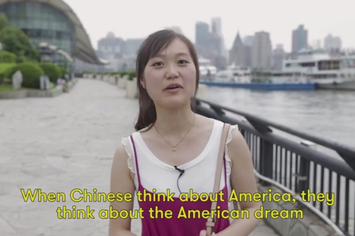 El sueño americano también salió a relucir entre las percepciones sobre Estados Unidos. Foto:Vía Youtube Cut Video. Imagen Por:
