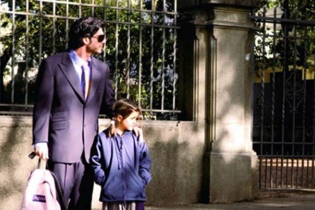 Él la lleva todos los días a la escuela. Foto:Pinterest. Imagen Por: