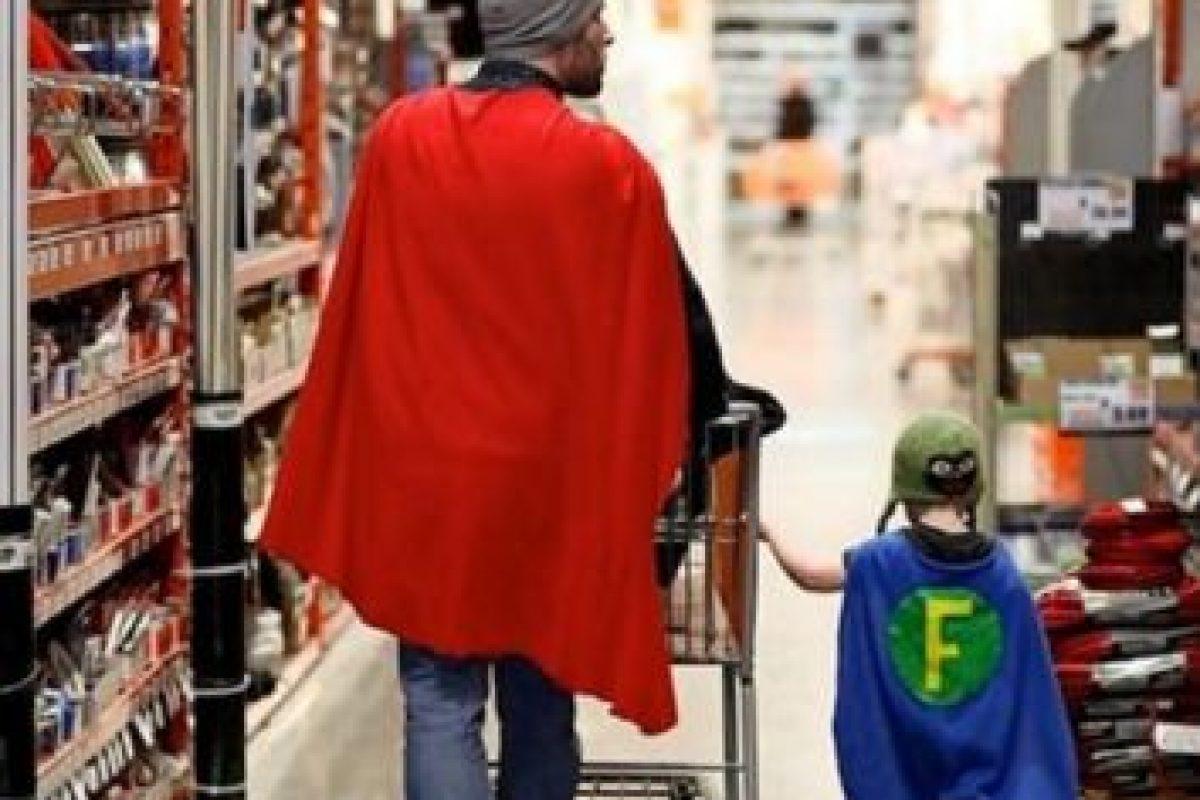 Él va de compras así… Foto:Imgur. Imagen Por: