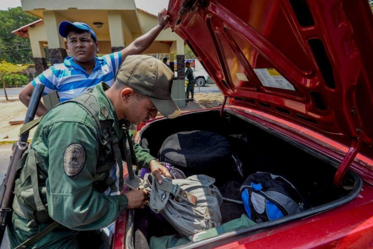 El pasado 19 de agosto, el presidente Nicolás Maduro decretó el cierre de fronteras en el estado de Táchira Foto:AFP. Imagen Por: