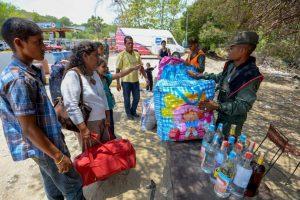 """Los efectivos militares realizaban un operativo contra el denominado """"contrabando de extracción"""", realizado por los """"bachaqueros"""" (forma en la que el Gobierno venezolano se refiere a los contrabandistas) Foto:AFP. Imagen Por:"""