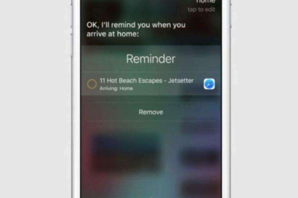Mejor reconocimiento de voz en el celular y mejor sincronización entre Siri y las app. Foto:Apple. Imagen Por: