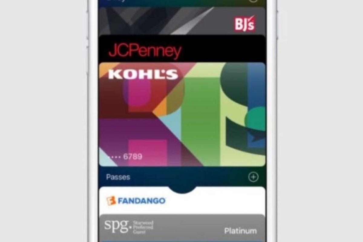 Walllet es el administrador de tarjetas de crédito para iPhone. Foto:Apple. Imagen Por:
