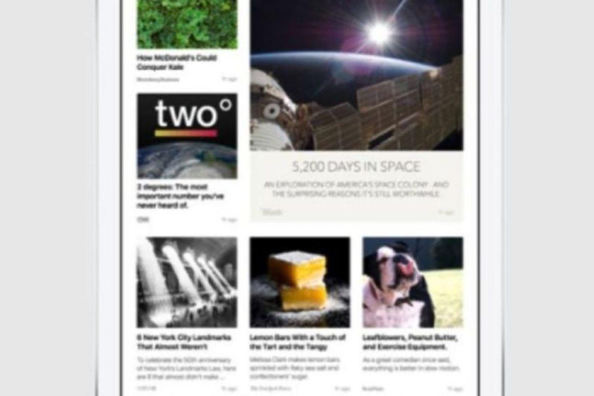 News también soporta fotos y video. Foto:Apple. Imagen Por: