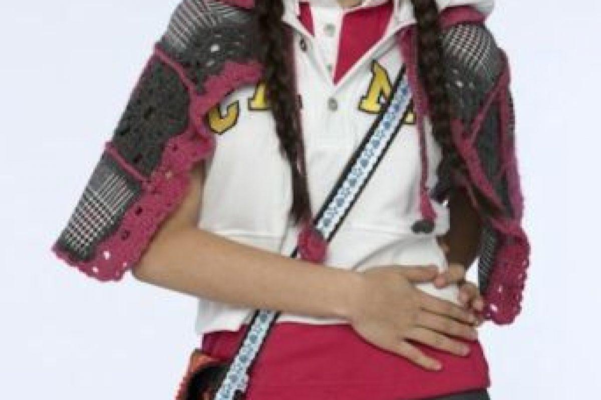 """Este fue el look de la actriz mexicana en la serie """"Atrévete a Soñar"""" Foto:Televisa. Imagen Por:"""
