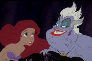 """""""'Úrsula' hizo un contrato con 'Ariel' que no tenía ninguna cláusula que estipulara que ella no debía intervenir"""". Foto:facebook.com/DisneyTheLittleMermaid. Imagen Por:"""