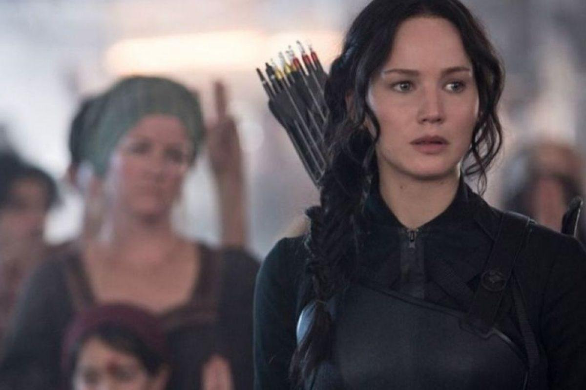 """""""Katniss"""" está decidida a terminar con el """"presidente Snow"""". Foto:IMDb. Imagen Por:"""