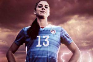 """Alex Morgan, una de las estrellas del """"FIFA 16"""". Foto:EA Sports. Imagen Por:"""