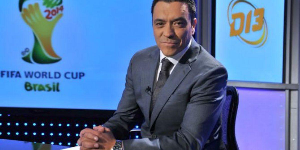 Director ejecutivo tuvo que intervenir para asegurar a Claudio Palma en Canal 13