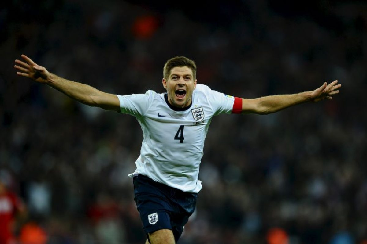 7. Steven Gerrard – Inglaterra Foto:Getty Images. Imagen Por: