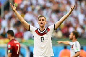 9. Per Mertesacker – Alemania Foto:Getty Images. Imagen Por: