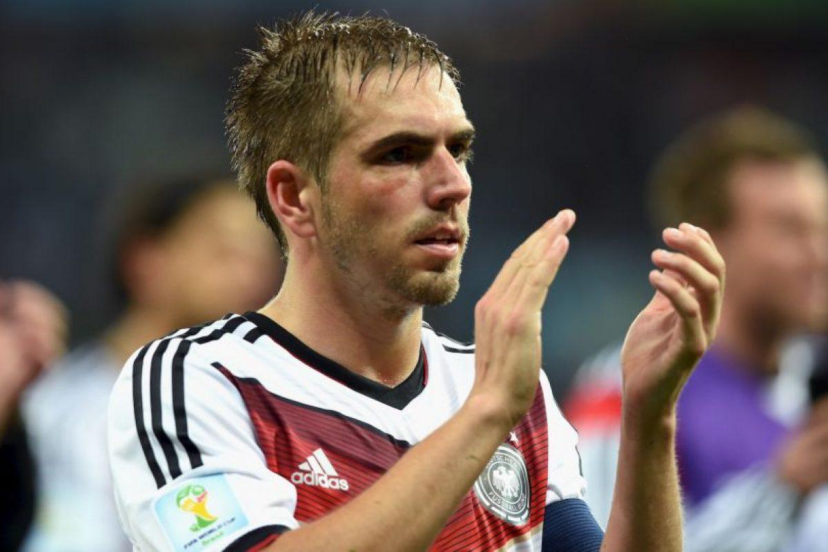 10. Philipp Lahm – Alemania Foto:Getty Images. Imagen Por: