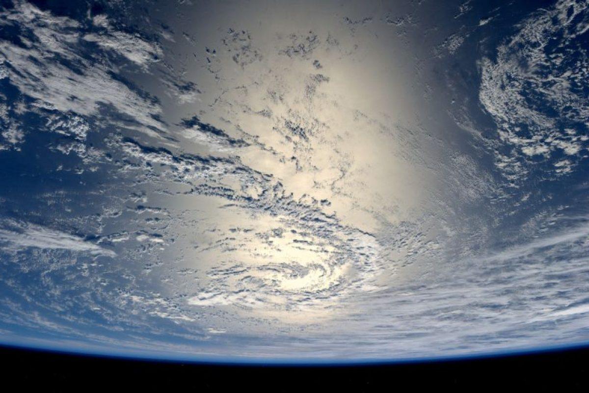 Desde el espacio se podían ver partes de la Tierra. Foto:Getty Images. Imagen Por: