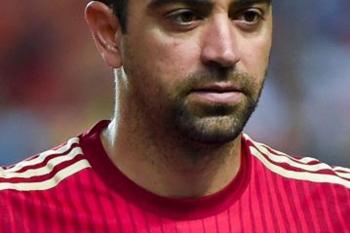 5. Xavi – España Foto:Getty Images. Imagen Por: