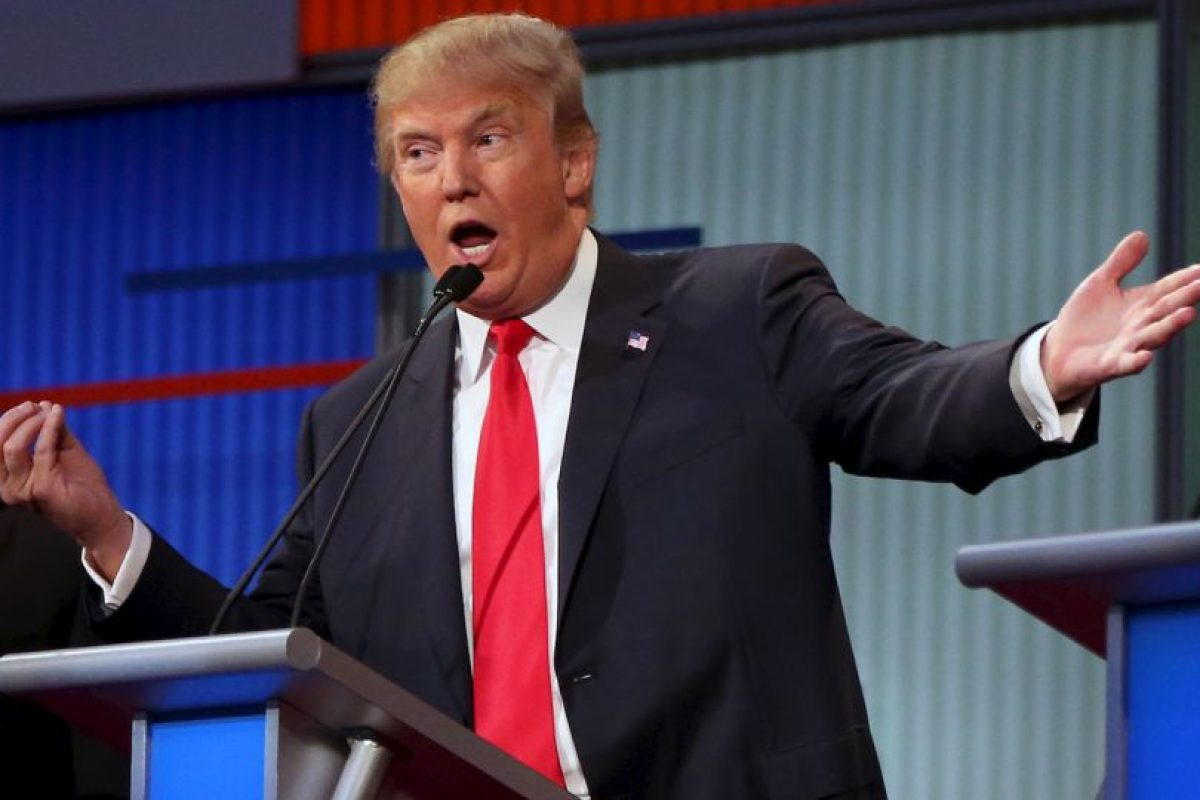 """5. Inmigración- Trump se mantuvo en su postura de crear un muro en la frontera, mientras que Marco Rubio aseguró que si construyeran un muro """"El Chapo"""" haría un túnel para llegar a Estados Unidos. Foto:AP. Imagen Por:"""