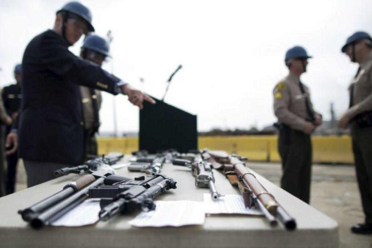 """""""El apoyo político a organizaciones como la Asociación Nacional del Rifle es uno de los principales obstáculos. Su poder evita que muchos proyectos de ley sean promulgados"""", explicó Adam Winkler, profesor de la Escuela de Derecho de UCLA, en Los Angeles. Foto:vía Getty Images. Imagen Por:"""