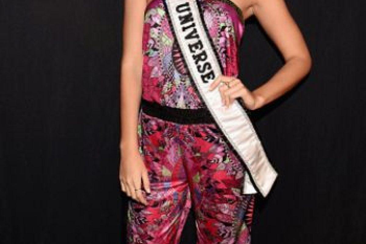 Paulina Vega no destaca por sus estilismos precisamente en este evento. Foto:vía Getty Images. Imagen Por: