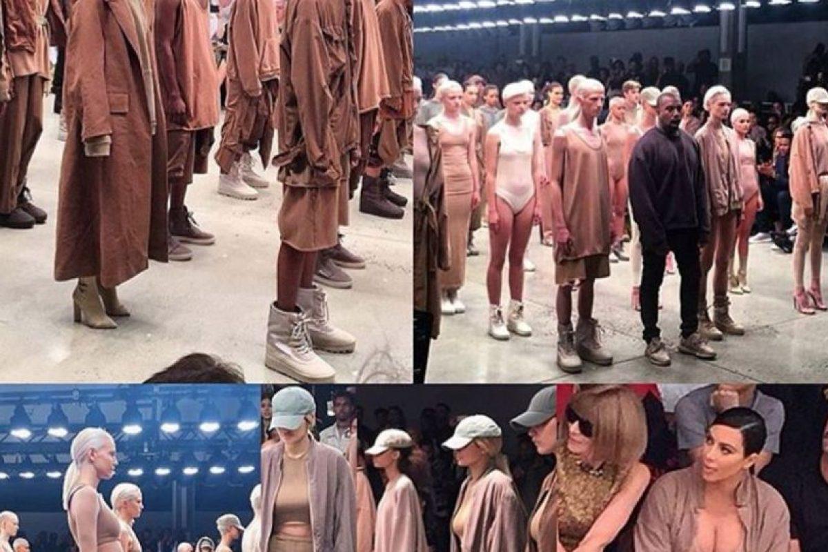 Por supuesto, Kim Kardashian lució sus prendas. Foto:vía Instagram. Imagen Por: