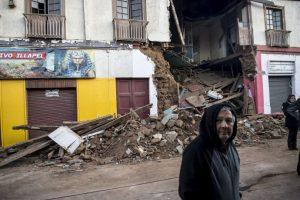 """""""Estamos monitoreando, en las regiones afectadas, el nivel de los daños. Es un análisis que dará próximamente la Oficina Nacional de Emergencia del Ministerio del Interior y Seguridad Pública (ONEMI)"""", informó la presidenta Foto:AFP. Imagen Por:"""