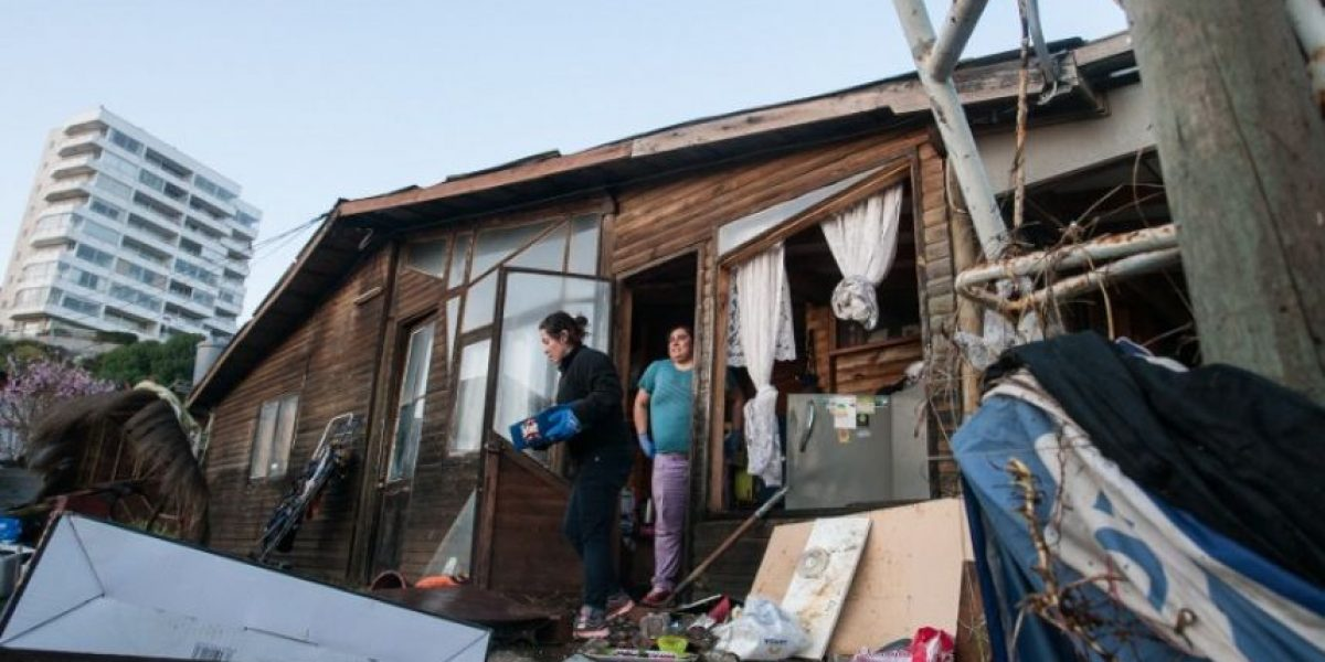 Videos: Así fueron las transmisiones en vivo del terremoto de Chile