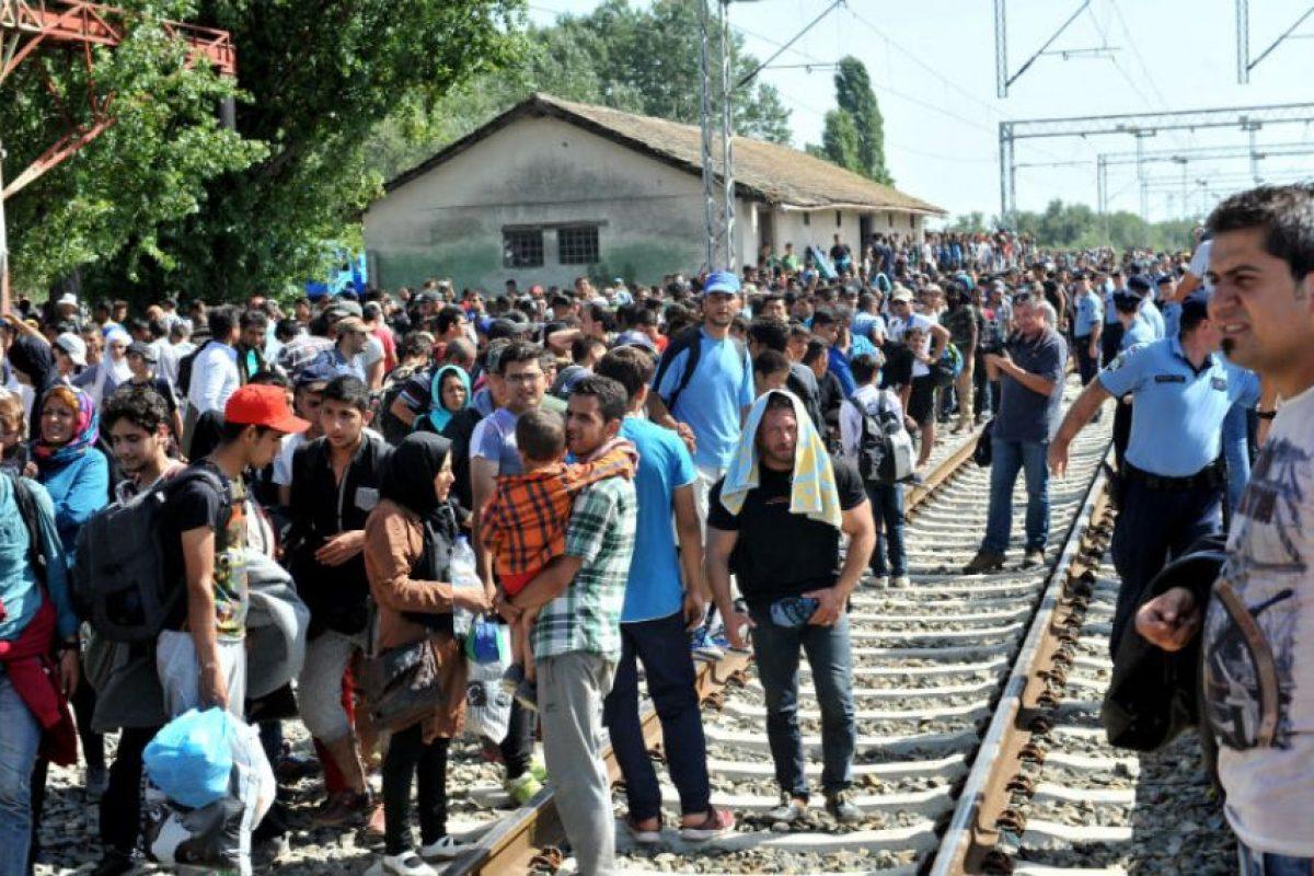 Cientos de los recién llegados ya han presentado solicitudes de asilo. Foto:AFP. Imagen Por: