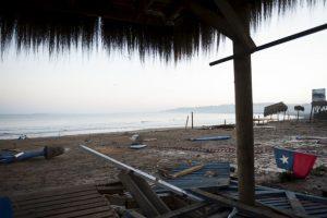 El terremoto generó un tsunami de tsunami de 4.6 metros (15 pies). Foto:AFP. Imagen Por:
