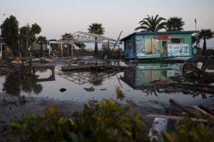 Hubo más de un millón de evacuados Foto:AFP. Imagen Por: