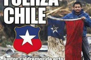 También, fotos de otros desastres naturales que ha padecido Chile Foto:Instagram.com/explore/tags/fuerzachile/. Imagen Por: