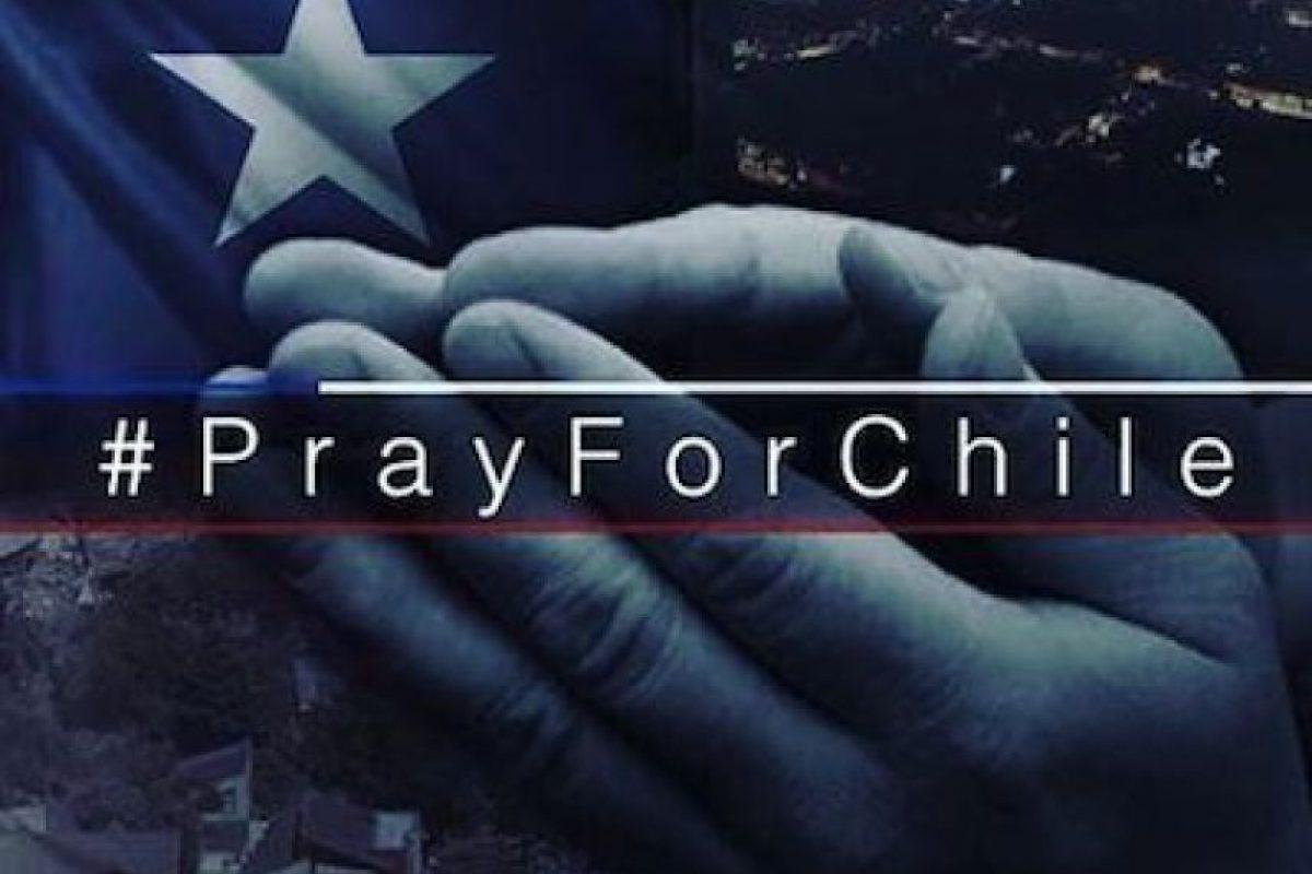 Además, se volvió a utilizar el hashtag #PrayFor, en este caso específicamente con la nación sudamericana Foto:Instagram.com/explore/tags/fuerzachile/. Imagen Por:
