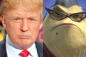 E incluso se le comparó con personajes de películas como Monsters Inc Foto:Twitter.com. Imagen Por: