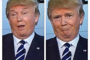 Las expresiones faciales de Donald Trump volvieron a dar de qué hablar Foto:Twitter.com. Imagen Por: