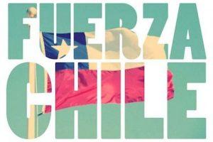 """Una de las frases que se convirtió en trending topic en redes sociales fue """"Fuerza Chile"""" Foto:Instagram.com/explore/tags/fuerzachile/. Imagen Por:"""