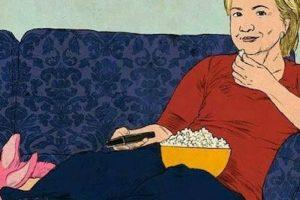 Y por supuesto, también se habló de la posible reacción de Hillary Clinton Foto:Twitter.com. Imagen Por: