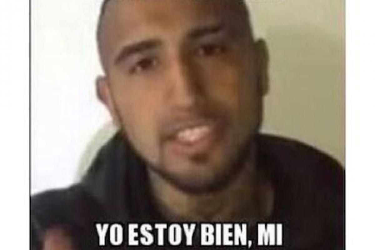 Hubo memes recordando el video en el que el futbolista Arturo Vidal explica su estado después de chocar, durante la pasada Copa América, jugada en el país Foto:Instagram.com/explore/tags/fuerzachile/. Imagen Por: