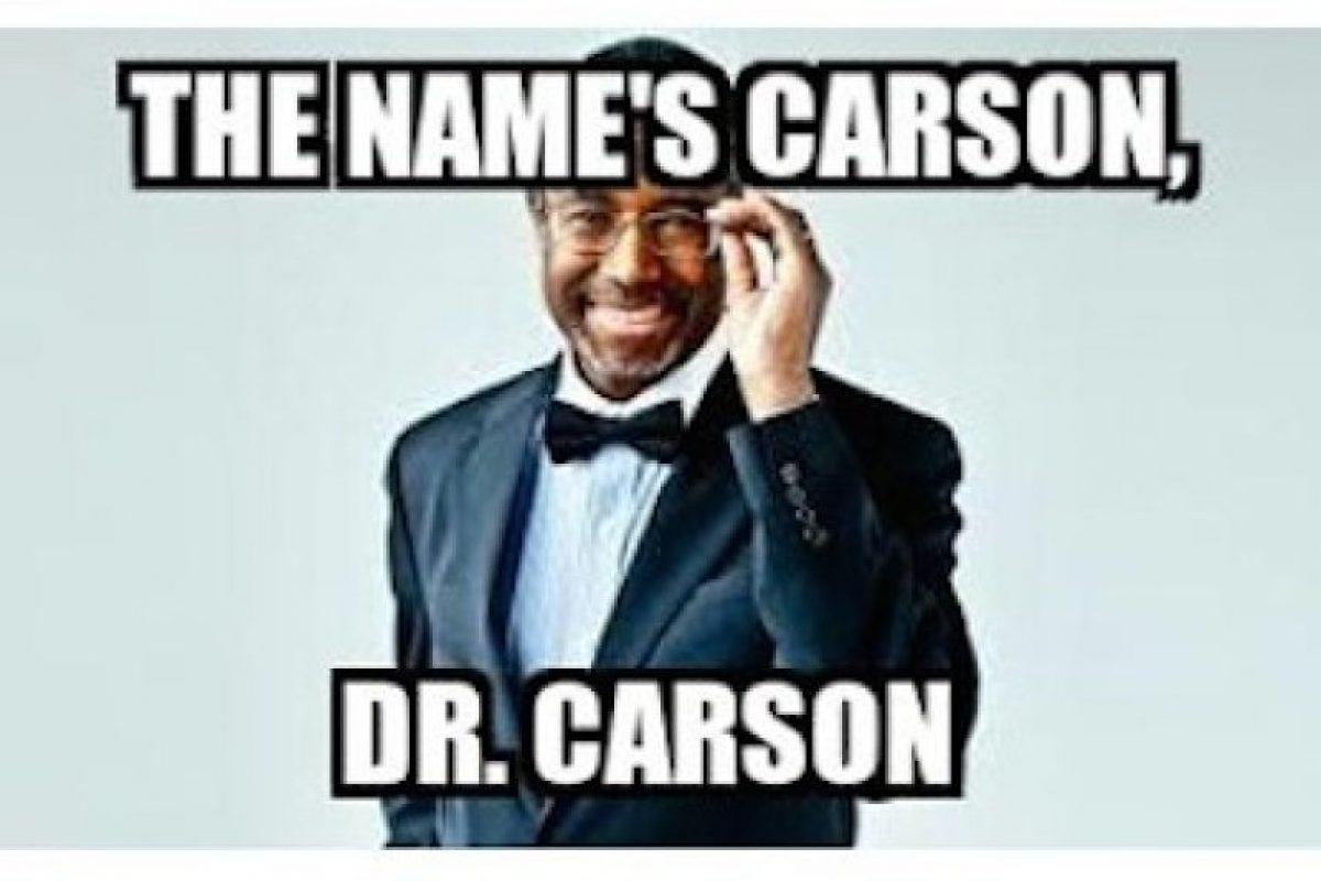 Otro candidato que recibió memes fue Ben Carson Foto:Twitter.com. Imagen Por: