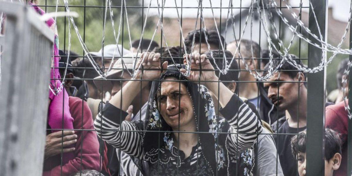 Así han sido los enfrentamientos en la frontera húngara