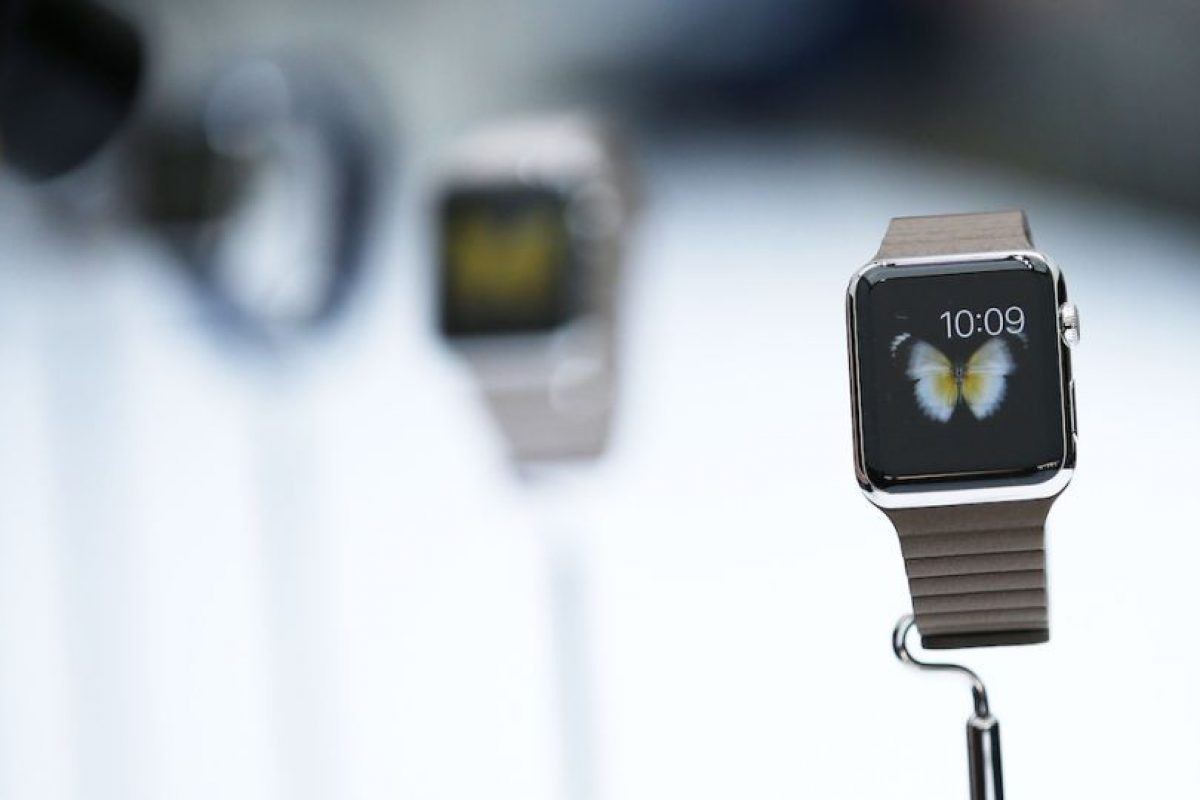 Modelos: Apple Watch, Apple Watch Sport y Apple Watch Edition con oro de 18 kilates. Foto: Getty Images. Imagen Por: