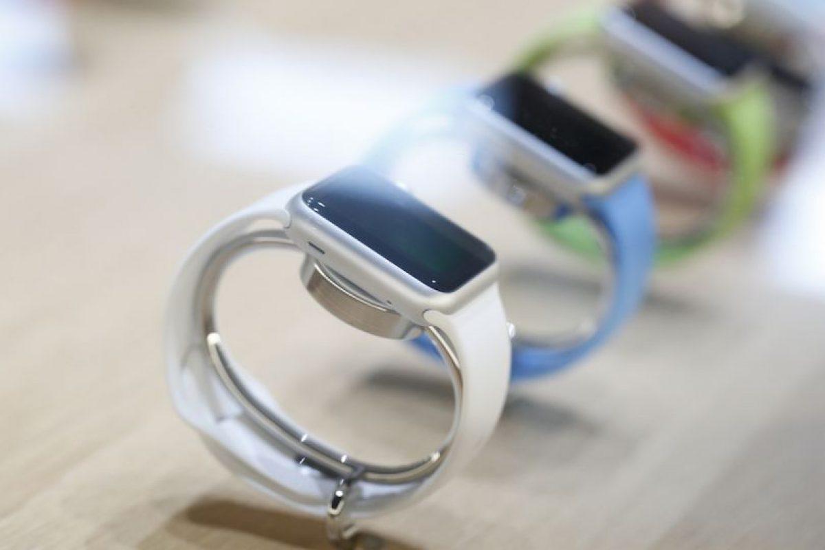 Todos quieren un Apple Watch y este hombre así lo expresaba. Foto:Getty Images. Imagen Por: