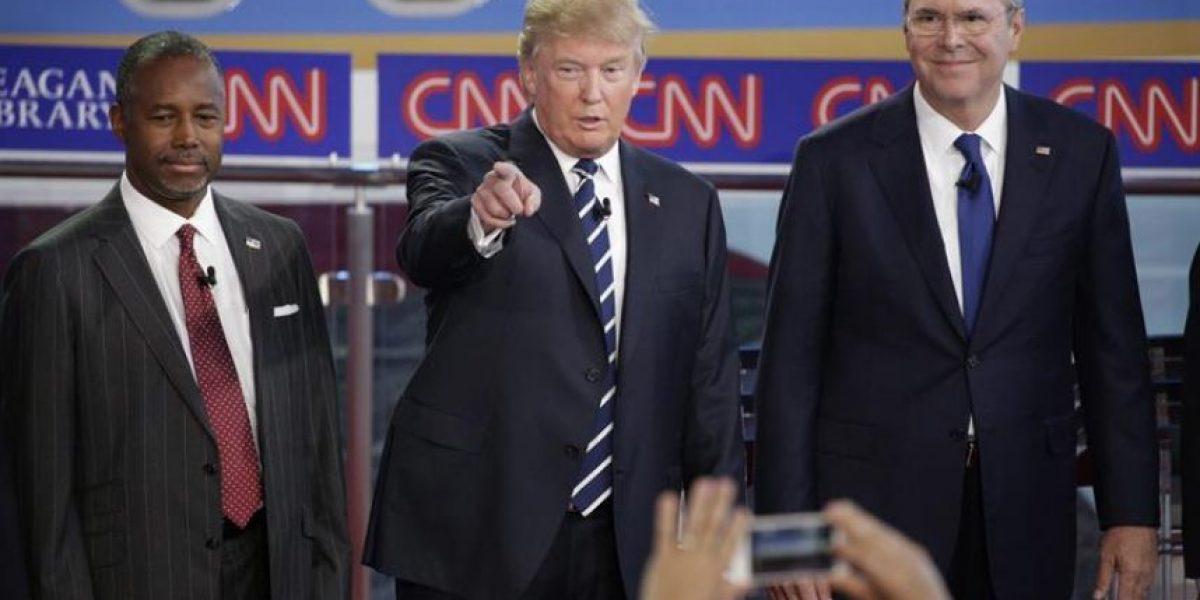 Trump y el resto de candidatos se enzarzan en ataques personales en el debate