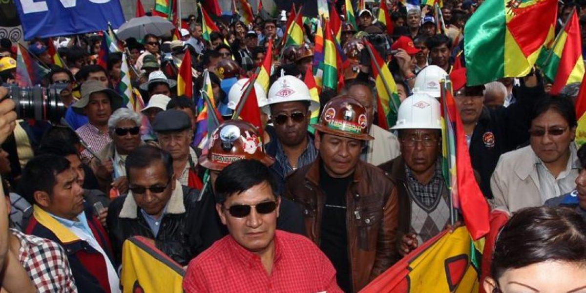Sindicatos presentan un proyecto de ley para la reelección de Morales en 2019